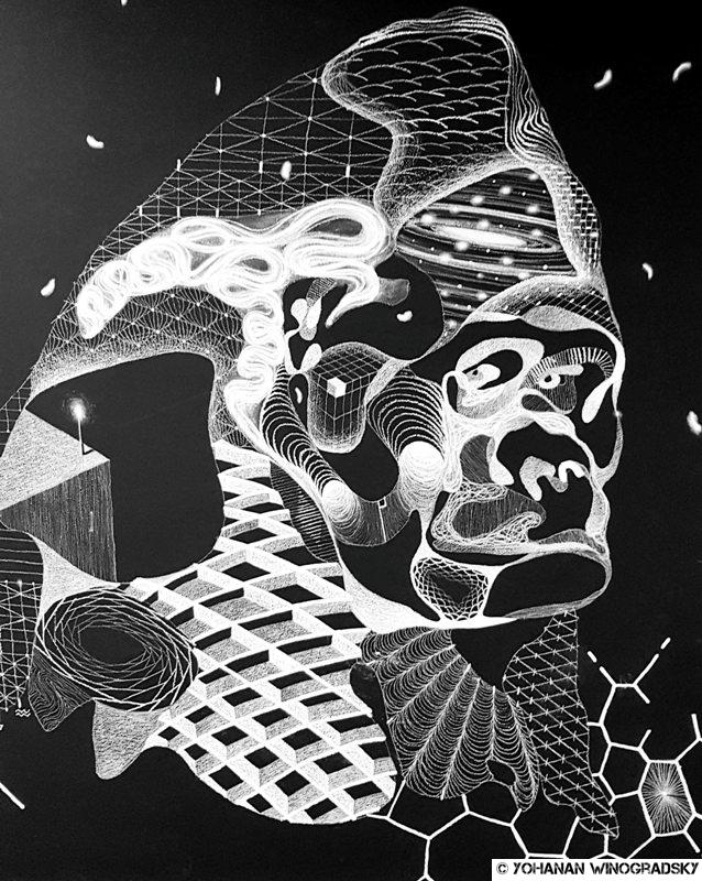 street art par philippe baudelocque à chatelet les halles gorille